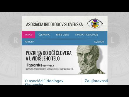 www.asociaciairidologov.sk