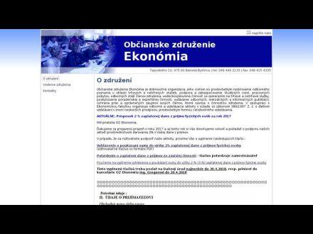 www.ozekonomia.sk