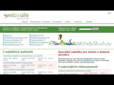 www.webinare.cz