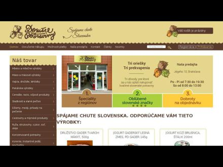 www.domace-potraviny.sk