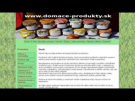 www.domace-produkty.sk