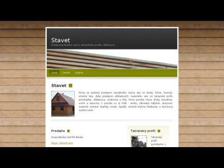 www.stavet.sk