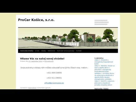 www.procerkosice.sk