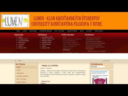 www.lumen.ukf.sk