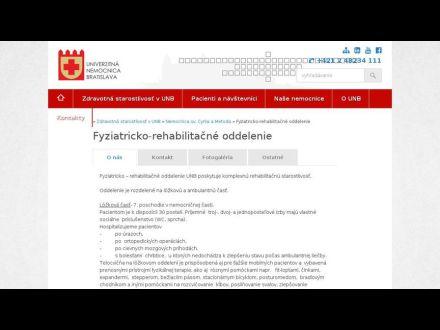 www.unb.sk/209-sk/fyziatricko-rehabilitacne-oddelenie