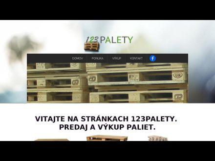 www.123palety.sk