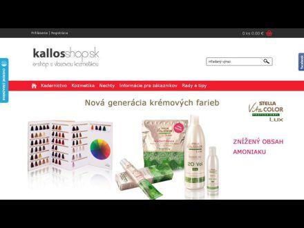 www.kallosshop.sk