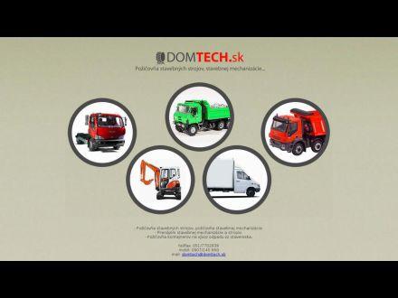 www.domtech.sk