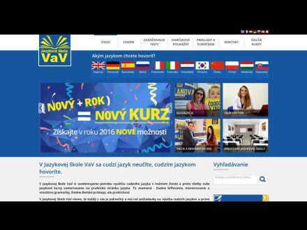 www.jazykovaskolavav.sk
