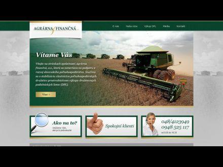 www.agrarnafinancna.sk