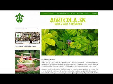 www.agricola.sk