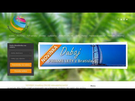 www.dovolenkanamieru.sk