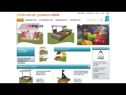 www.drevene-pieskoviska.sk