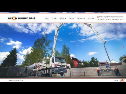 www.betonpumpyspis.sk
