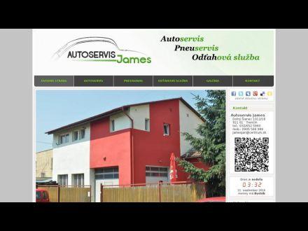 www.autoservisjames.sk/
