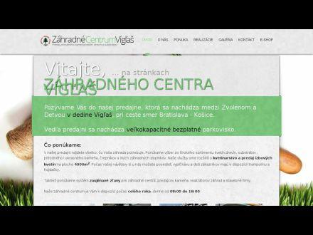 www.zahradnecentrumviglas.sk