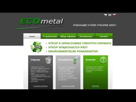 www.ecometal.sk