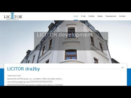www.licitor.sk