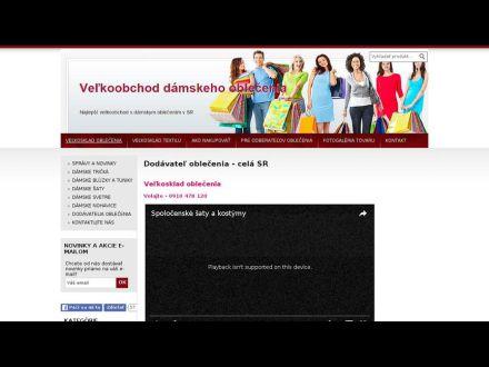 www.velkoskladoblecenia.sk