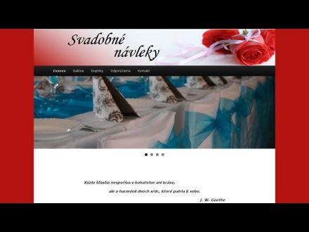 www.svadobnenavleky.sk