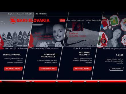 www.bari.sk