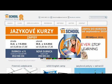 www.bsschool.sk