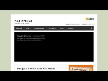 www.kst-krokus.sk