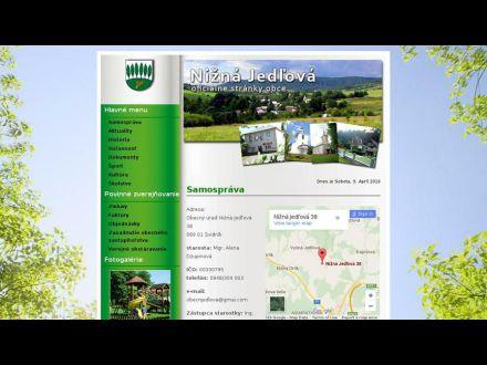 www.niznajedlova.ocu.sk