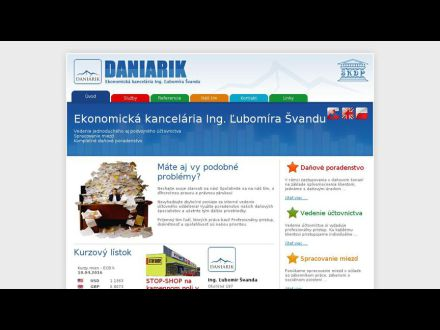 www.daniarik.sk
