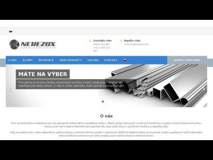 www.nerezox.sk