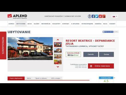 www.aplend.com/ubytovanie/25/resort-beatrice---depandance-julia