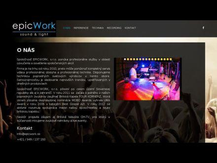 www.epicwork.sk