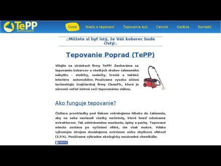 www.tepovanie-poprad.sk