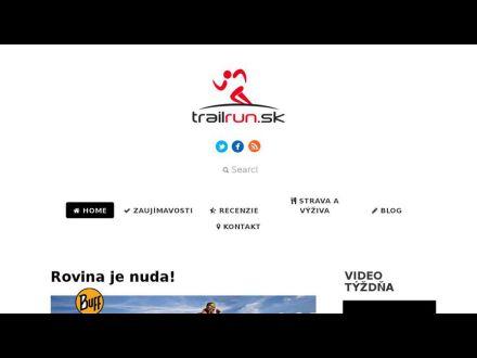 www.trailrun.sk