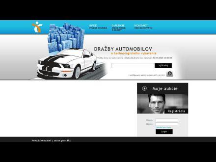 www.drazbyautomobilov.sk