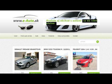 www.e-auta.sk