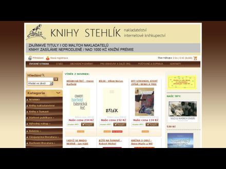 www.knihystehlik.eu