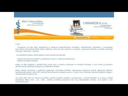 www.faithova-chiramedica.sk