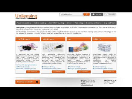 www.unileasing.sk