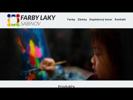 www.farbysabinov.sk