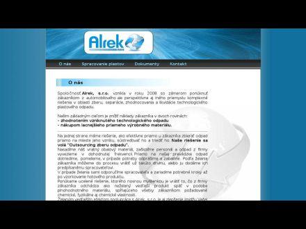 www.alrek.sk