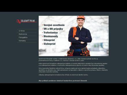 www.v-elektrik.sk