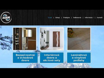 www.adam-podlahy-dvere.sk