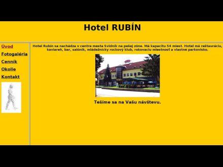 www.hotelrubin.sk