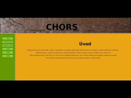 www.chors.sk