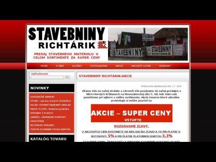 www.stavebninyrichtarik.sk