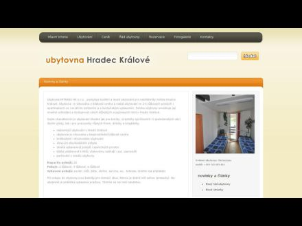 www.ubytovnahradeckralove.cz