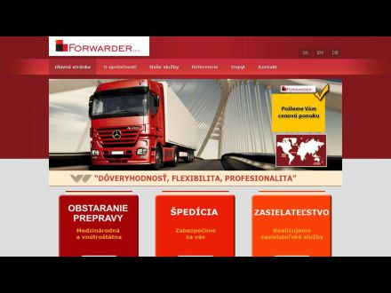 www.forwarder.sk