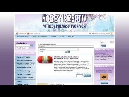 www.hobby-kreativ.sk