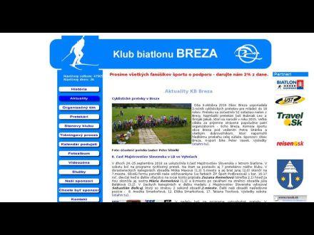 www.biatlonbreza.sk
